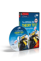 The Official DSA Theory Test for Motorcyclists CD-ROM