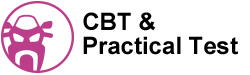 CBT and Practical Test text and image header