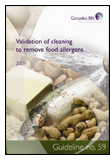 Guideline 59: Validation of Cleaning to Remove Food Allergens