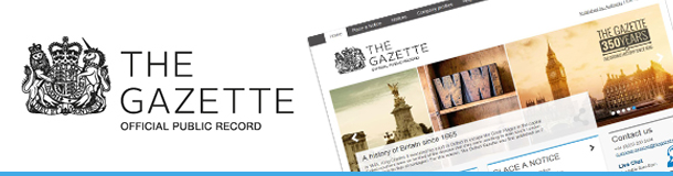 The Gazette banner