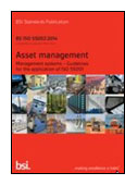 Asset management. Management systems. Guidelines for the application of ISO 55001