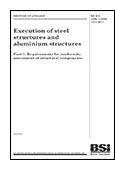 Execution of steel structures and aluminium structures - part