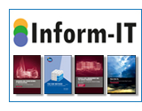 Inform IT logo and publications images shortcut to available titles