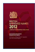 British Approved Names (BAN) jacket image link to product page