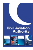Civil Aviation Authority logo and pblication jacket images below.