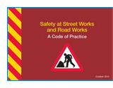 Safety at Street Works jacket image.