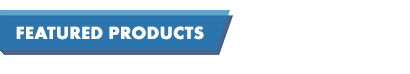 Featured products capitalised text