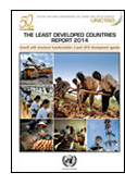 The Least Developed Countries Report 2014 book jacket