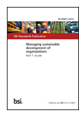 Managing Sustainable Development of Organizations - Part 1: Guide jacket image