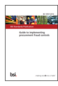 Guide to implementing procurement fraud controls jacket image