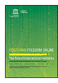 This research aims to identify principles for good practices and processes that are consistent with international standards for free expression that Internet intermediaries may follow in order to protect the human rights of end users online jacket image