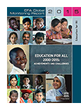 Education for all 2000-2015 book jacket image