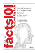 Outlines and Highlights for Introduction to Six Sigma and Process Improvement book jacket image