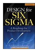 Design for Six Sigma: A Roadmap for Product Development book jacket image