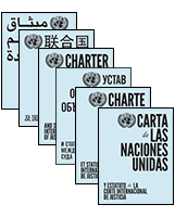 Charter of the United Nations and Statute of the International Court of Justice - Multilingual edition