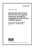 Respiratory protective devices for use against chemical, biological, radiological and nuclear (CBRN) agents - Part 4: Powered air purifying respirators - Specification
