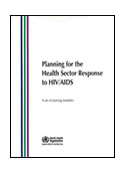 Planning for the Health Sector Response to HIV/AIDS shortcut