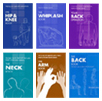 Evidence-based Health Guidance books - six jacket images