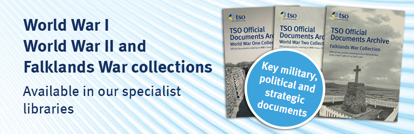 World War I, World War II and Falklands War collections