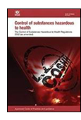 The Control of Substances Hazardous to Health Regulations 2002: Approved Code of Practice and guidance - cover