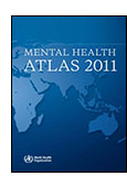 Mental Health Atlas 2011 cover