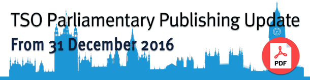 TSO Parliamentary Publishing Update PDF