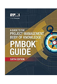 A Guide to the Project Management Body of Knowledge (PMBOK Guide) Sixth Edition cover