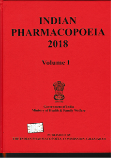 Indian Pharmacopoeia 2018