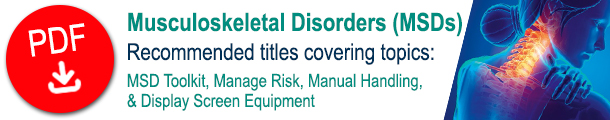 Musculoskeletal Disorders MSDs promotoinal catalogue PDF