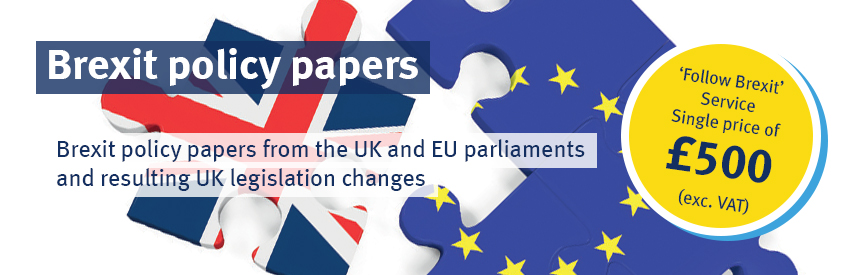 Brexit policy papers