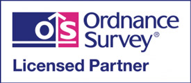 Ordnance Survey licensed partner official logo