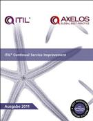 ITIL® CONTINUAL SERVICE IMPROVEMENT - German Translation Book - Front