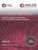 Operational Support and Analysis ITIL Intermediate Capability Handbook - pack of 10 - Front