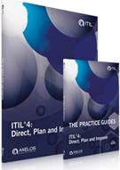 ITIL® 4: Direct, Plan and Improve: Core Guidance and Practice Guides - Front