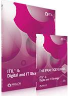 ITIL® 4 Digital and IT Strategy: The Practice Guides PDF + ITIL 4 Digital and IT Strategy Book - Front