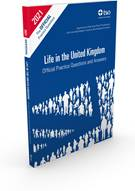 Life in the United Kingdom Official Practice Questions and Answers book jacket