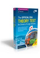 The Official DVSA Theory Test for Drivers of Large Vehicles 2012 Edition Book - Front