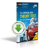The Official DVSA Theory Test for Car Drivers Interactive Download - Front