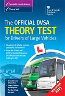 The Official DVSA Theory Test for Drivers of Large Vehicles Book 2015 edition  - Front