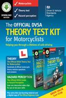 The Official DVSA Theory Test Kit for Motorcyclists download - Front