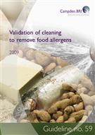 Validation of Cleaning to Remove Food Allergens  - Front