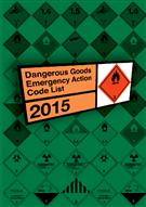 Dangerous Goods Emergency Action Code List 2015 - Front