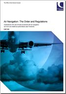 CAP 393 Air Navigation: The Order and the Regulations - Front