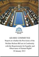 Report on Whether the Provisions of the Welfare Reform Bill are in Conformity with the Requirements for Equality and Observance of Human Rights - Front