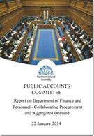 Report On Department Of Finance And Personnel - Collaborative Procurement And Aggregated Demand - Front