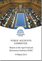 Report On The Agri-Food And Biosciences Institute (AFBI) - Front