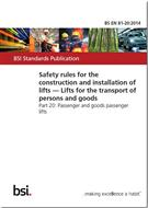 Safety rules for the construction and installation of lifts - Lifts for the transport of persons and goods - Part 20: Passenger and goods passenger lifts - Front