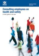INDG232  Consulting Employees On Health And Safety - A Brief Guide To The Law (Pack of 5)