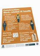 Construction: Work-related Ill Health (poster) - Front