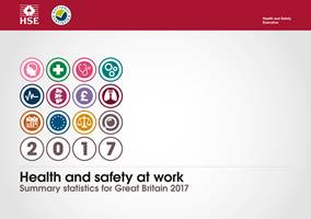 Health and Safety 				at Work: Vital Statistics Booklet 2017 - Front